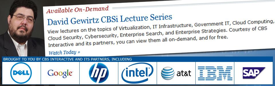 CBSi David Gewirtz Lecture Series